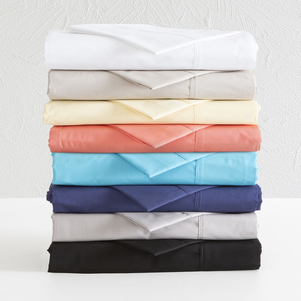 Plain Dye 250 Thread Count Sheet Set Pillow Talk 45.00