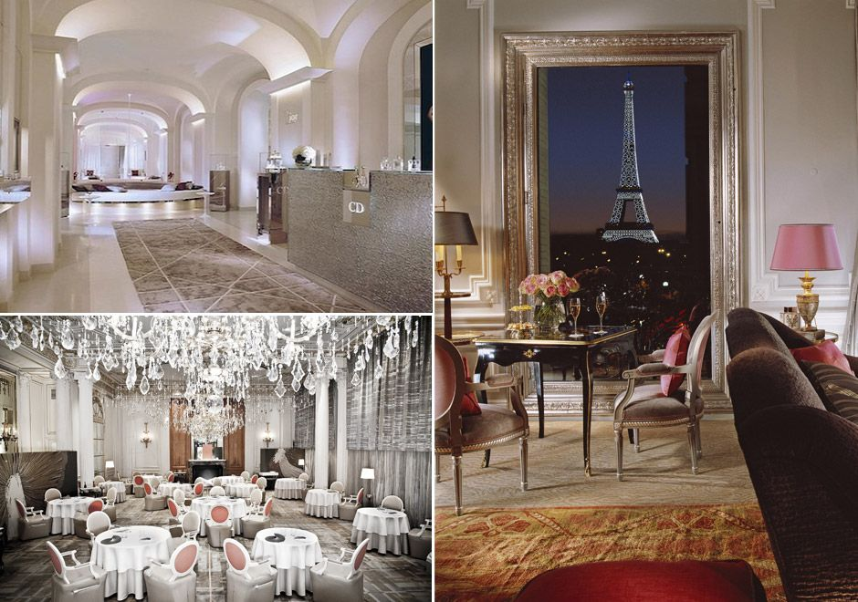 5 Star Diamond Hotel Plaza Athenee In Paris France