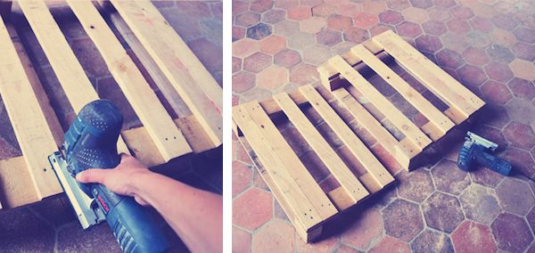 fauteuil en palette tutoriel diy wood pallet chair tuto upcycling. Black Bedroom Furniture Sets. Home Design Ideas