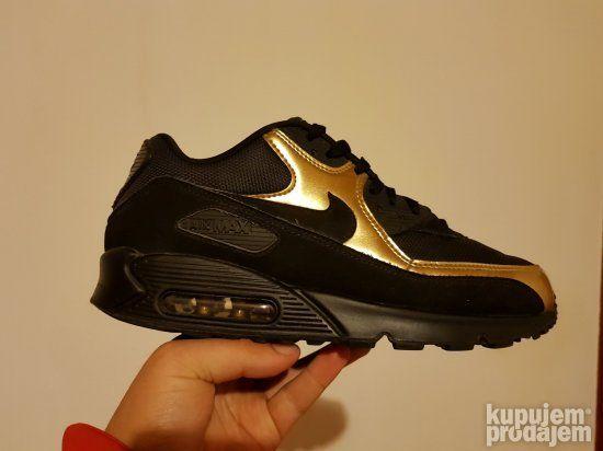 Nike Air Max 90 Essential Mens 537384 058 Black Gold | Nike