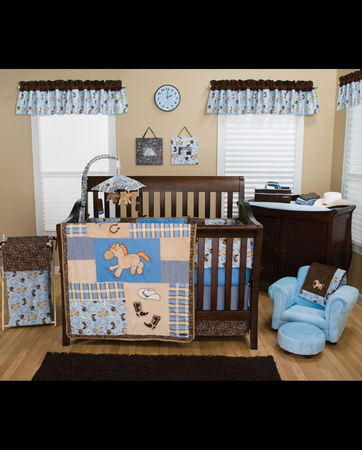 Cowboy Baby Crib Bedding Set 4 Piece Sets Home Decor Fort Western Online