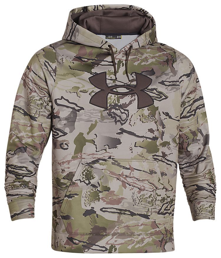 c5886259b8a2d Under Armour ColdGear Big Logo Camo Hoodie for Men | Bass Pro Shops: The Best  Hunting, Fishing, Camping & Outdoor Gear