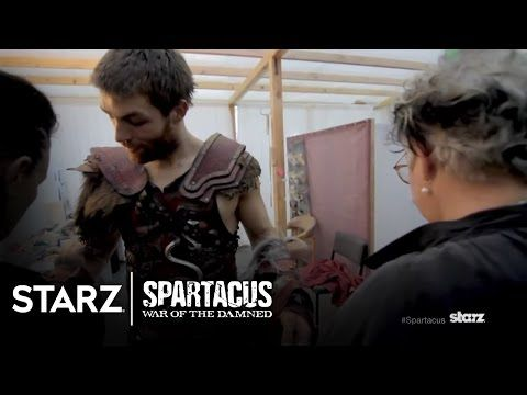 Spartacus War of the Damned Costumes STARZ YouTube