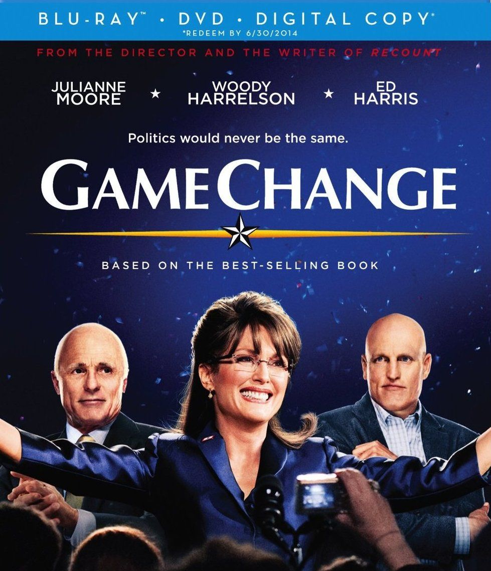 Game Change (2012) Hindi Dubbed [BRRip] Game change, Blu