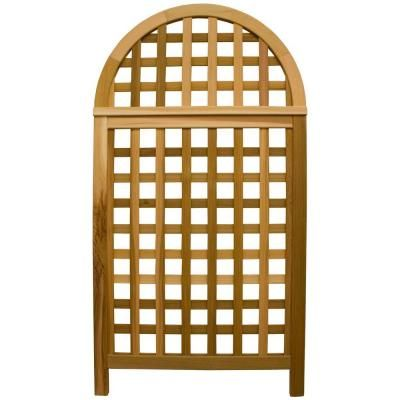 Eden Arbors Luxembourg Privacy Screen Va68199 With Images Cedar Trellis Trellis Arbors Trellis