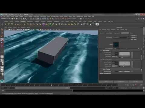 Ocean Shader in Maya 2015Computer Graphics & Digital Art Community for Artist: Job, Tutorial, Art, Concept Art, Portfolio