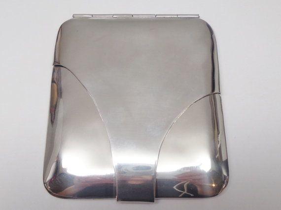 Vintage Sterling Silver Business Card Holder Vintage Sterling Silver Sterling Silver Silver