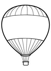 Hot Air Balloon Coloring Pages Hot Air Balloons Art Hot Air