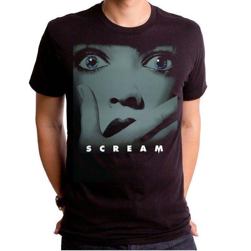 Mens Scream Movie Poster Short Sleeve T-Shirt