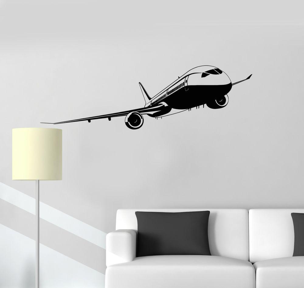 Planes Sky Set Inspired Design Childrens Kids Decor Wall Art Decal Vinyl Sticker