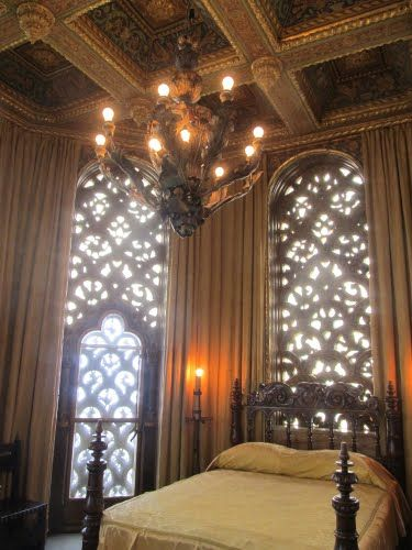 Ornate Castle Bedroom.