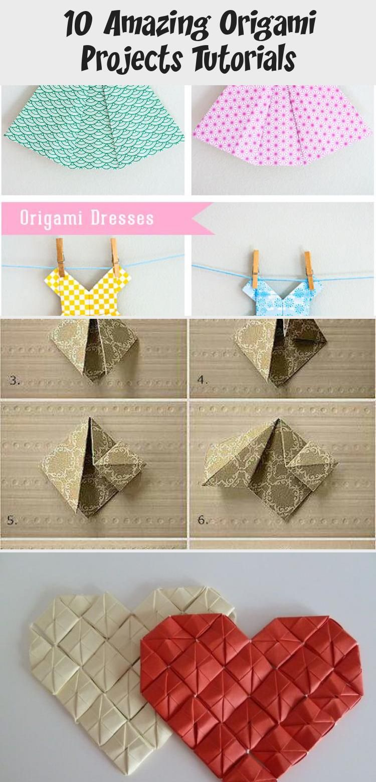 Photo of 10 Amazing Origami Projects Tutorials – #origamiFrog #origamiCajas #origamiCube …