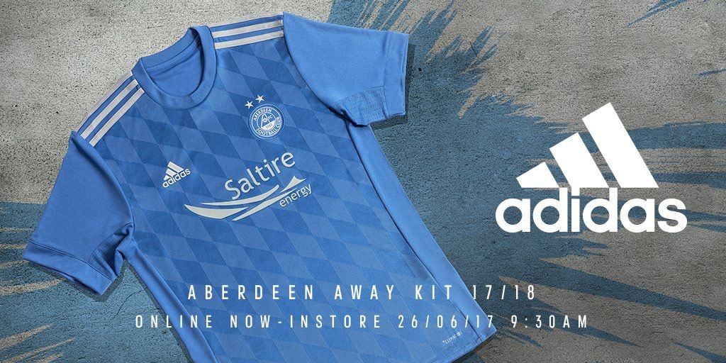 Aberdeen 2017/2018 Away Kit Good soccer players, Soccer