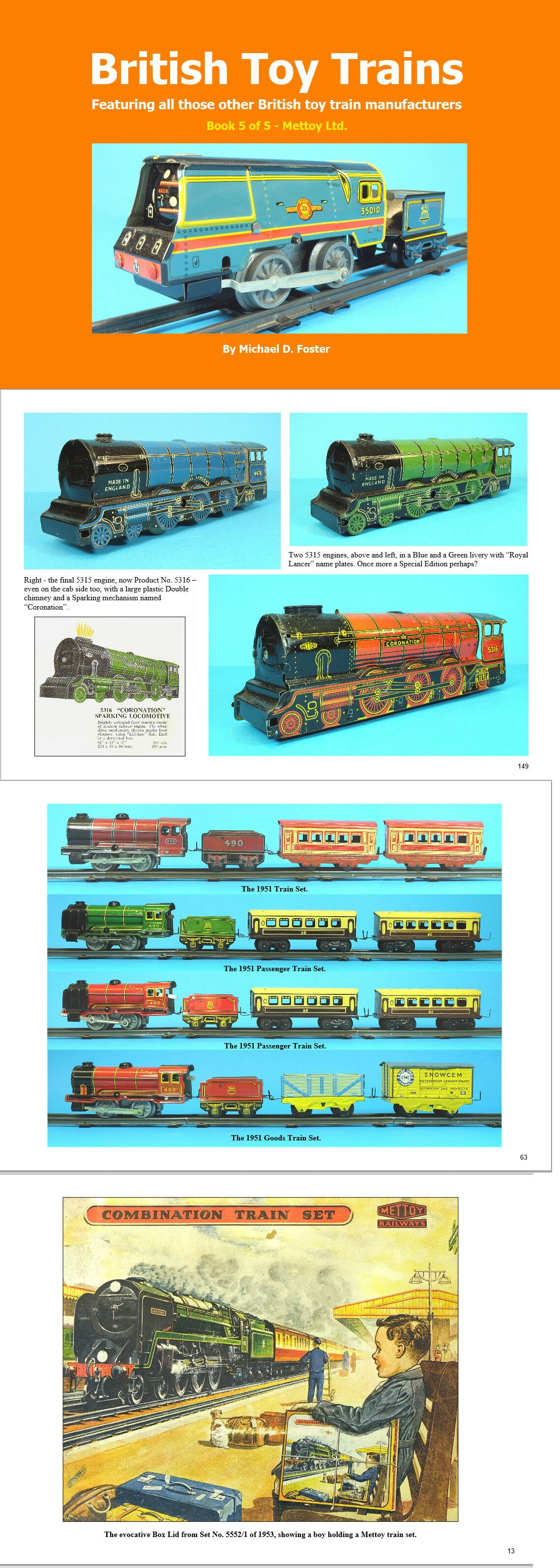 Other Model Train Media 9051: British Toy Trains Book 5