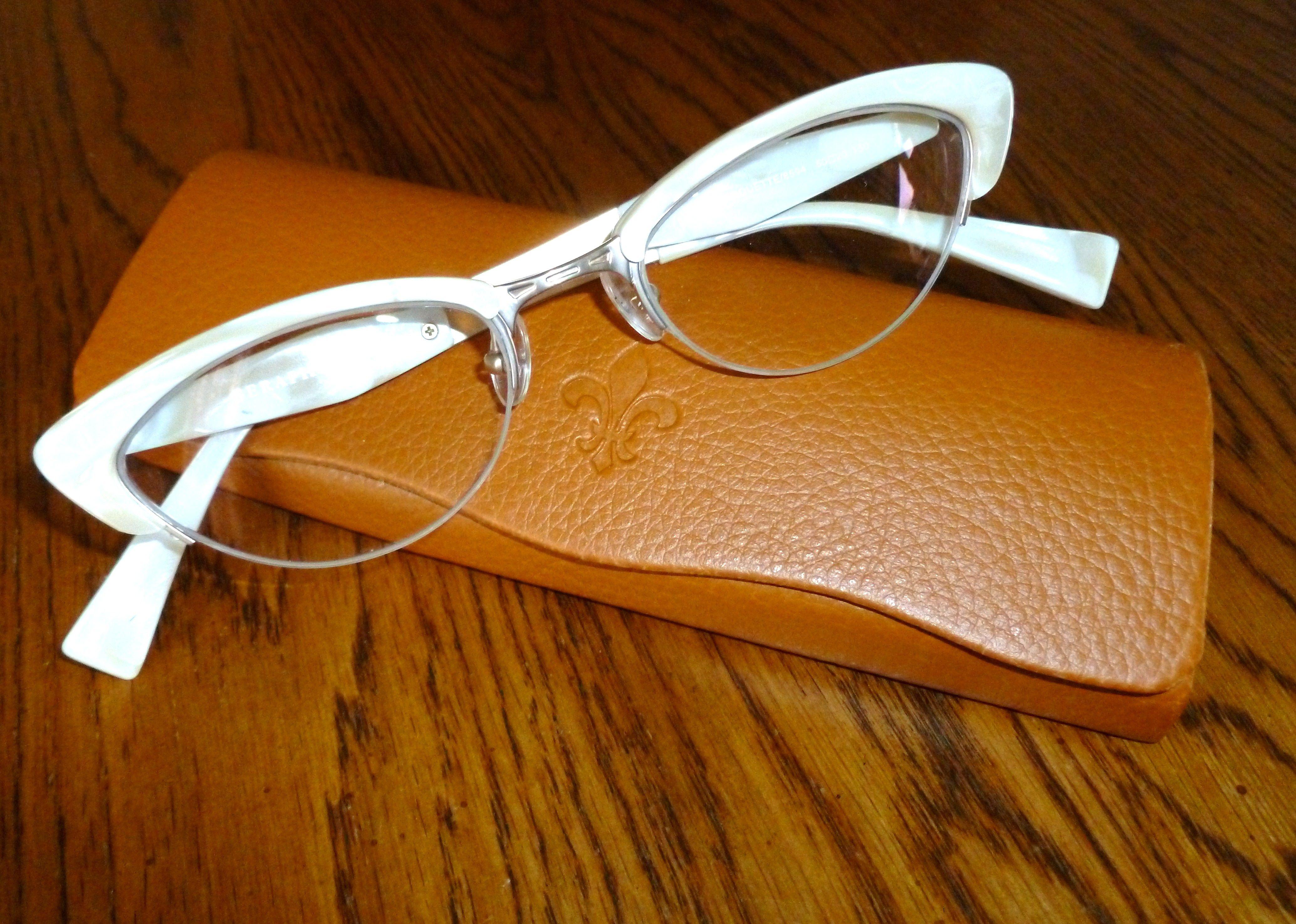 look dashing in white! Ogi Eyewear here at Birch Lake eye Clinic ...