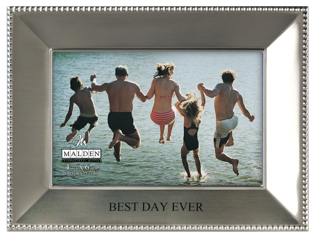 Best Day Ever Beaded Metal Picture Frame | Products | Pinterest