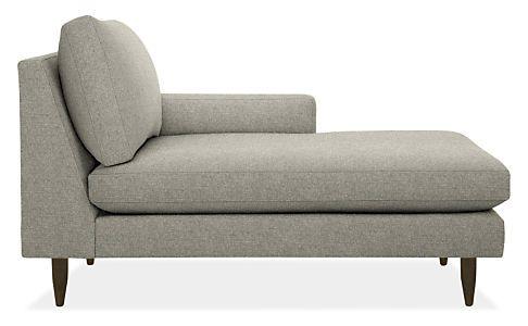 Jasper Chaises - Modern Chaises & Studio Sofas - Modern Living Room Furniture - Room & Board