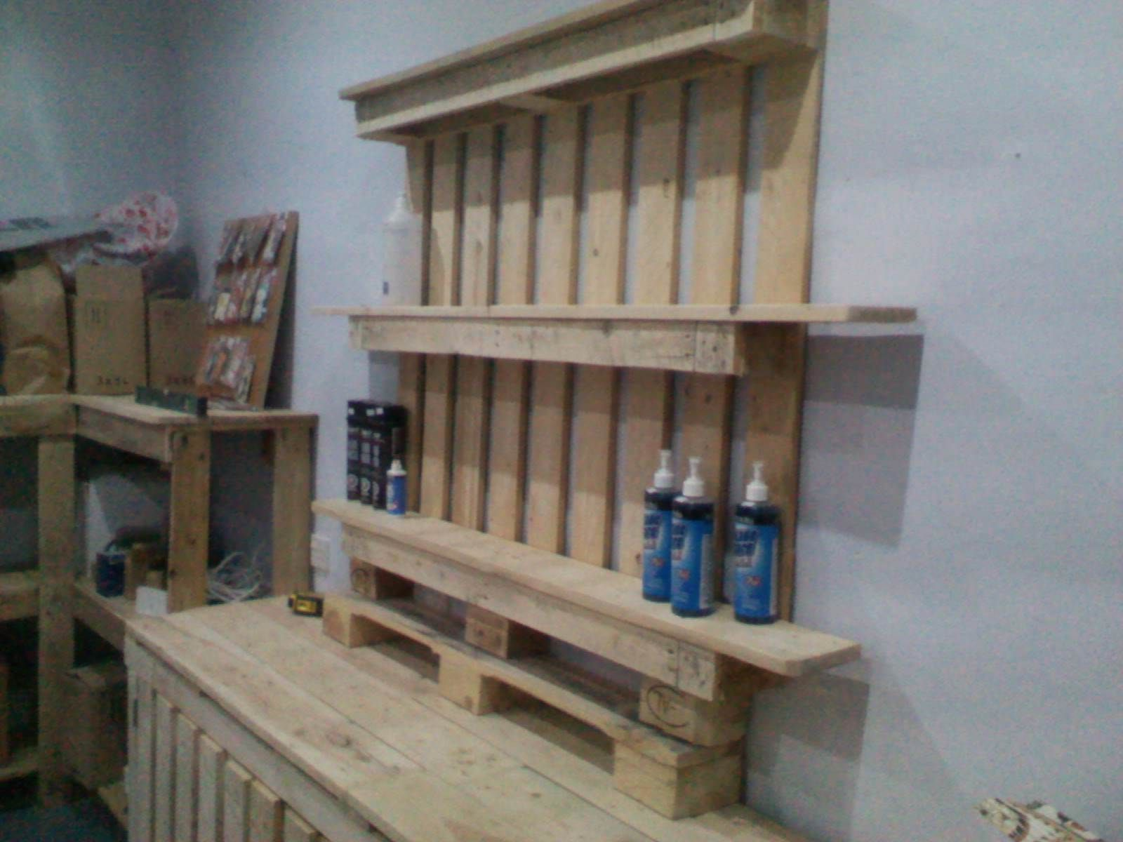 Shop Furniture Made Out Discarded Pallets