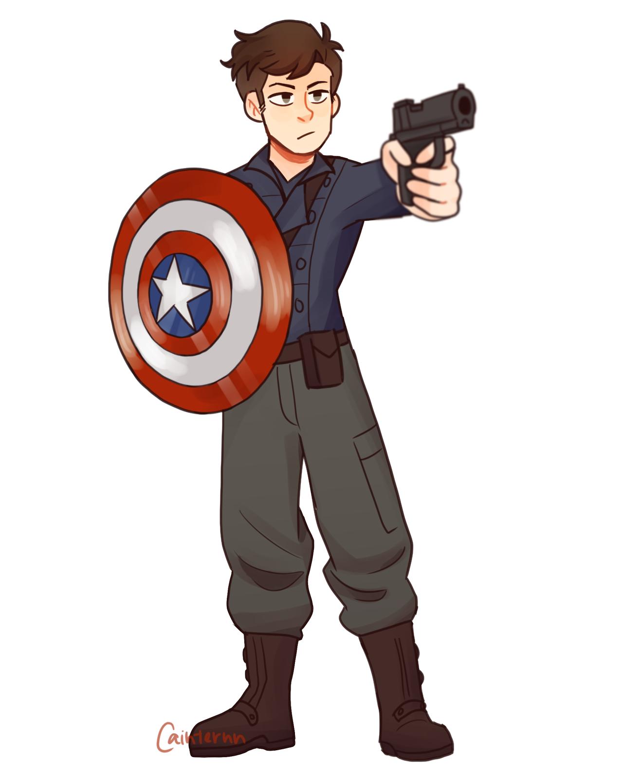 Captain America: First Avenger || Bucky Barnes | Fanart