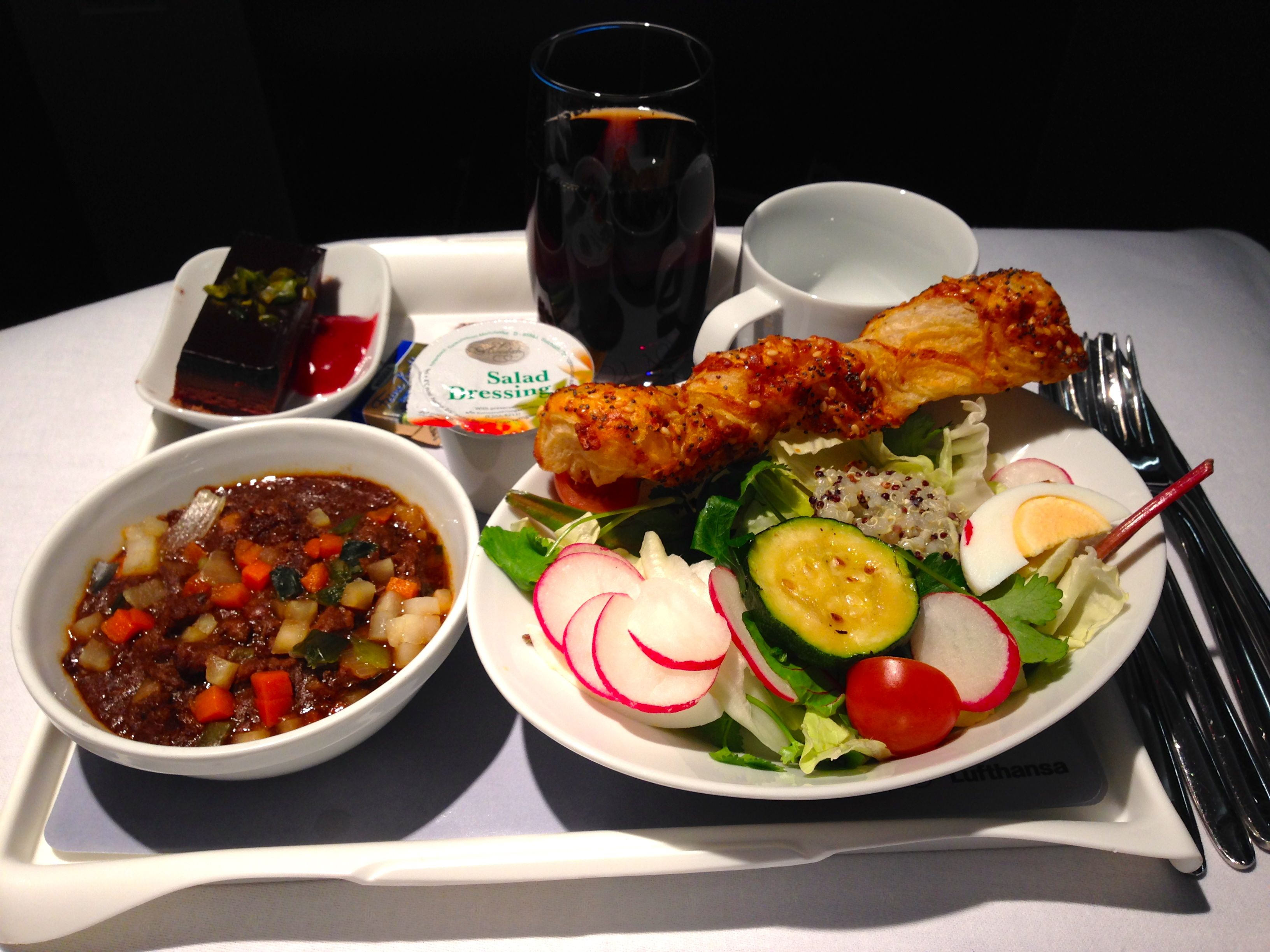 Thalys Food Service First Class