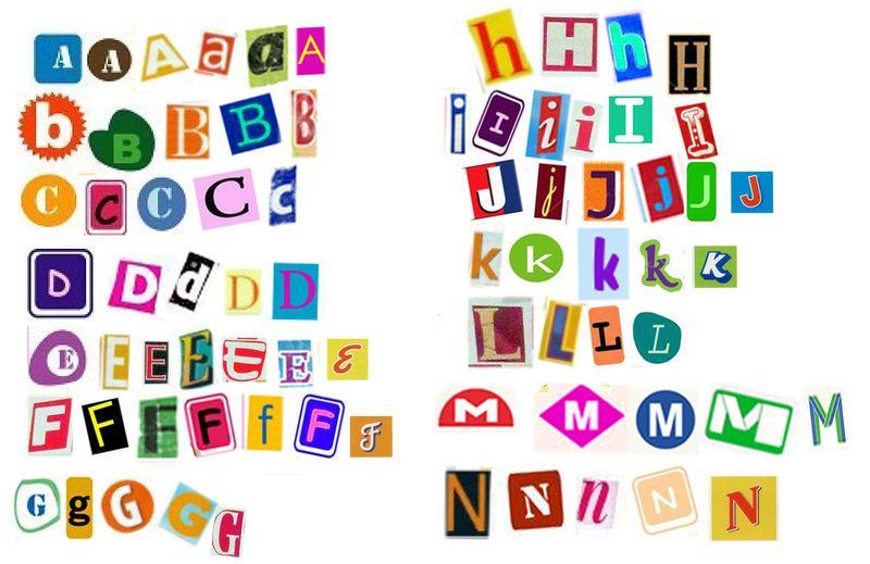 Theme lettres mise en place et les images - Lettres alphabet maternelle ...