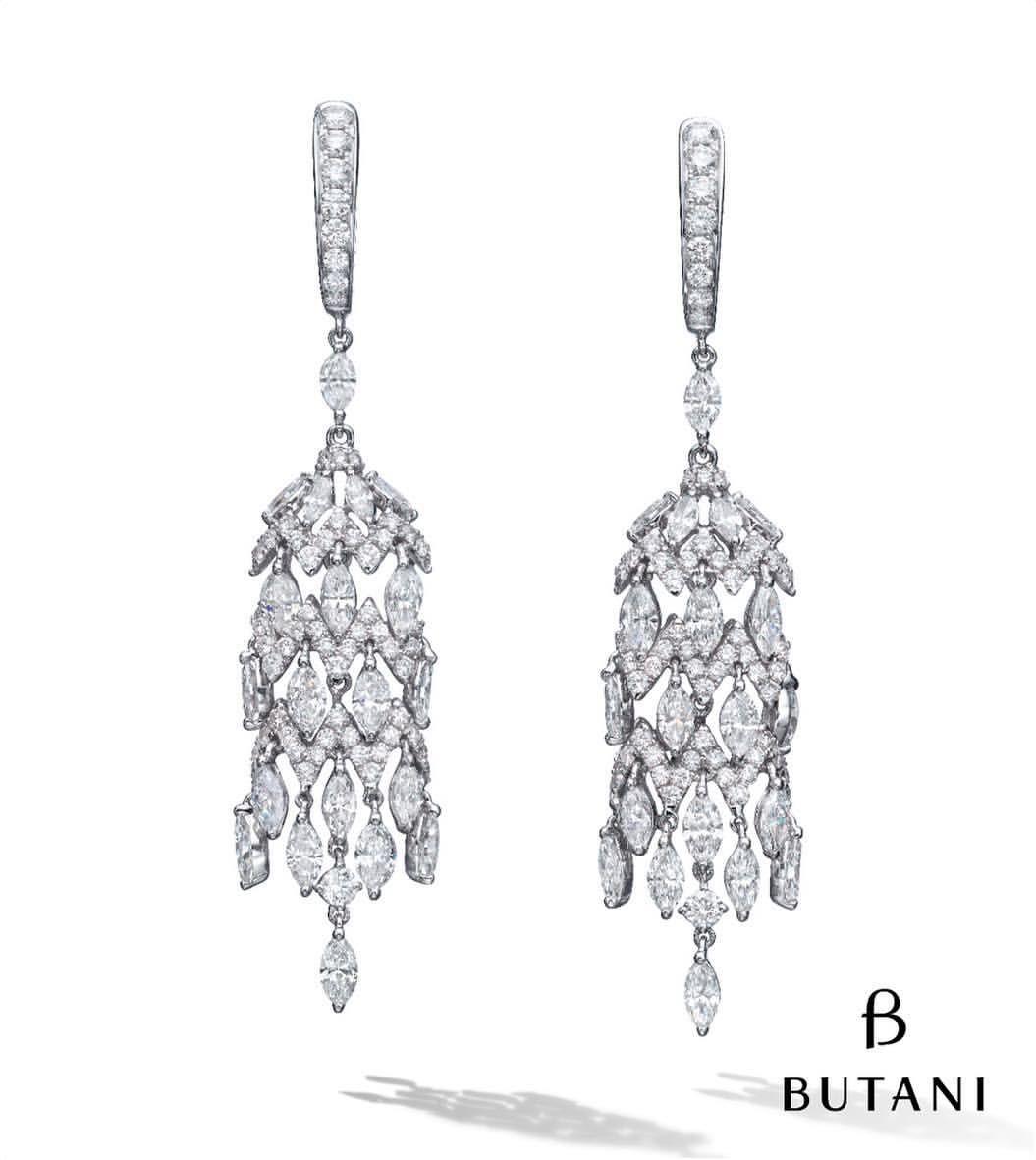 Butani jewellery butanijewellery on instagram beautiful and butani jewellery butanijewellery on instagram beautiful and brilliant butani diamond diamond chandelier earringsbridal arubaitofo Choice Image