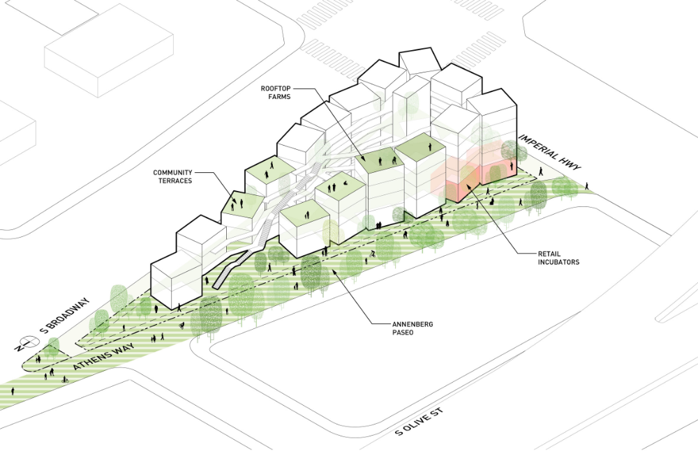 Loha Designs Affordable Housing Complex For Difficult Site In Los Angeles Site Plan Design Architecture Site Plan Affordable Housing