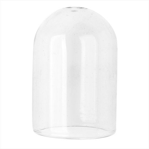 HOLLOW GLASS DOME FOR JEWELRY 245X365MM PILL SHAPE 2 PIECES from beadaholique.com