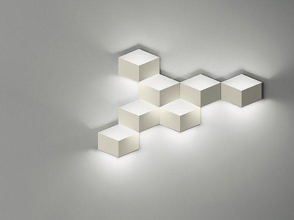 Arandela LED de alumínio FOLD SURFACE 4209 by Vibia design Arik Levy