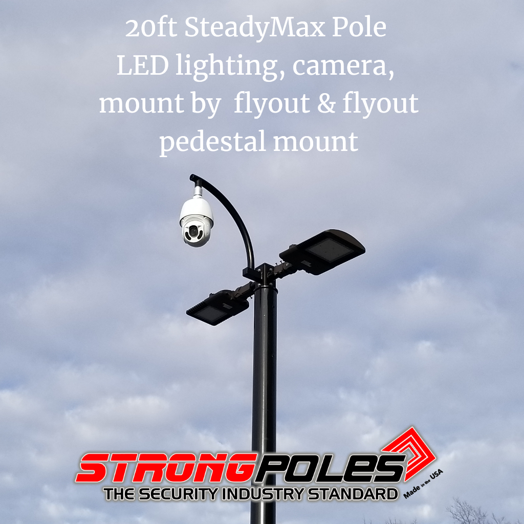 Security Camera Poles With The Ability To Add Lighting Ip Camera System Solar Camera Security Camera System