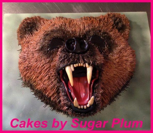 Grizzly Bear Cake Grizzly Bear Cake