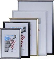 Bilderrahmen mit Echtglas in verschiedenen Farben von 9x13 bis 40x50