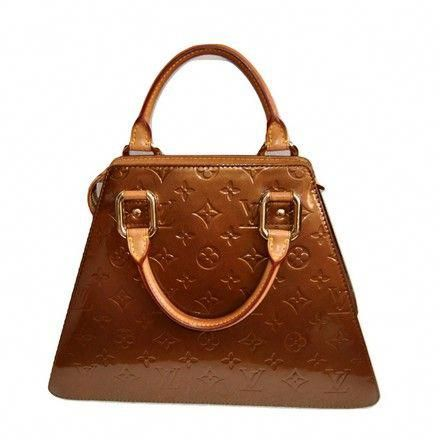 42927f035e49 Louis Vuitton Monogram Vernis Bronze Leather Tote. Get one of the hottest  styles of the