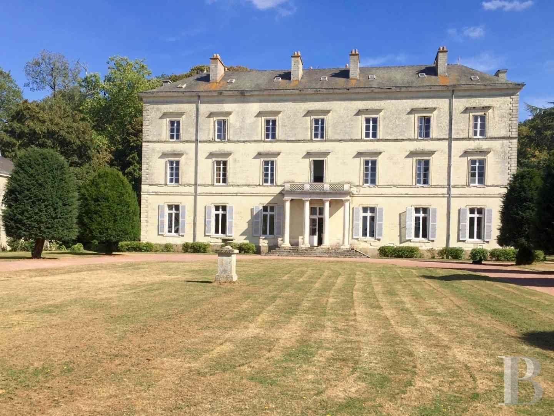 chateaux for sale France pays de loire castles chateaux - 1