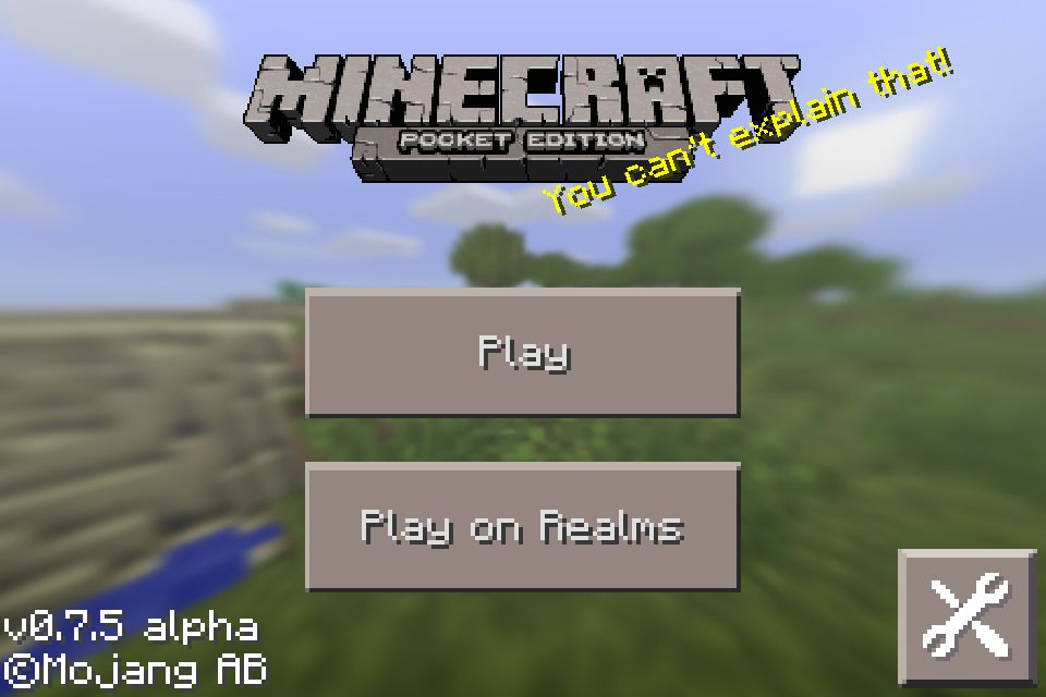 Minecraft Minecraft Minecraft Minecraft Pe Homescreen