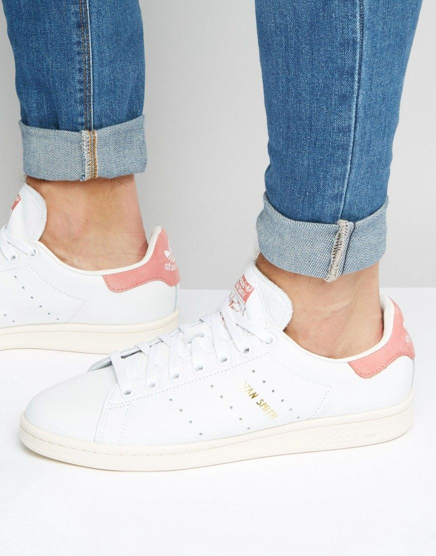 adidas originals stan smith trainers in white