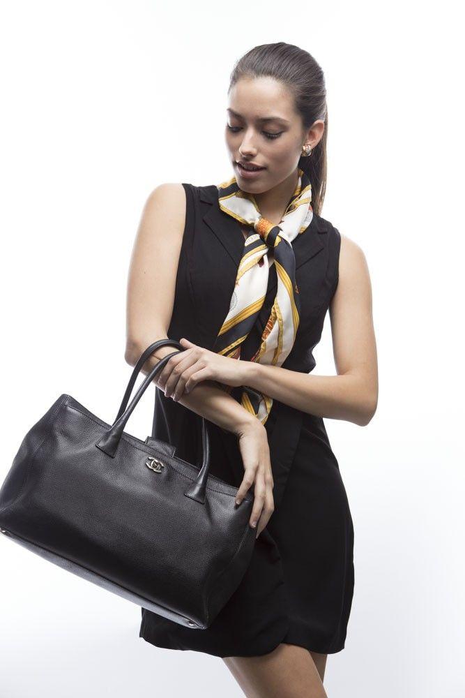 9653c161d4de Chanel Black Caviar Cerf Tote Bag Price -   1