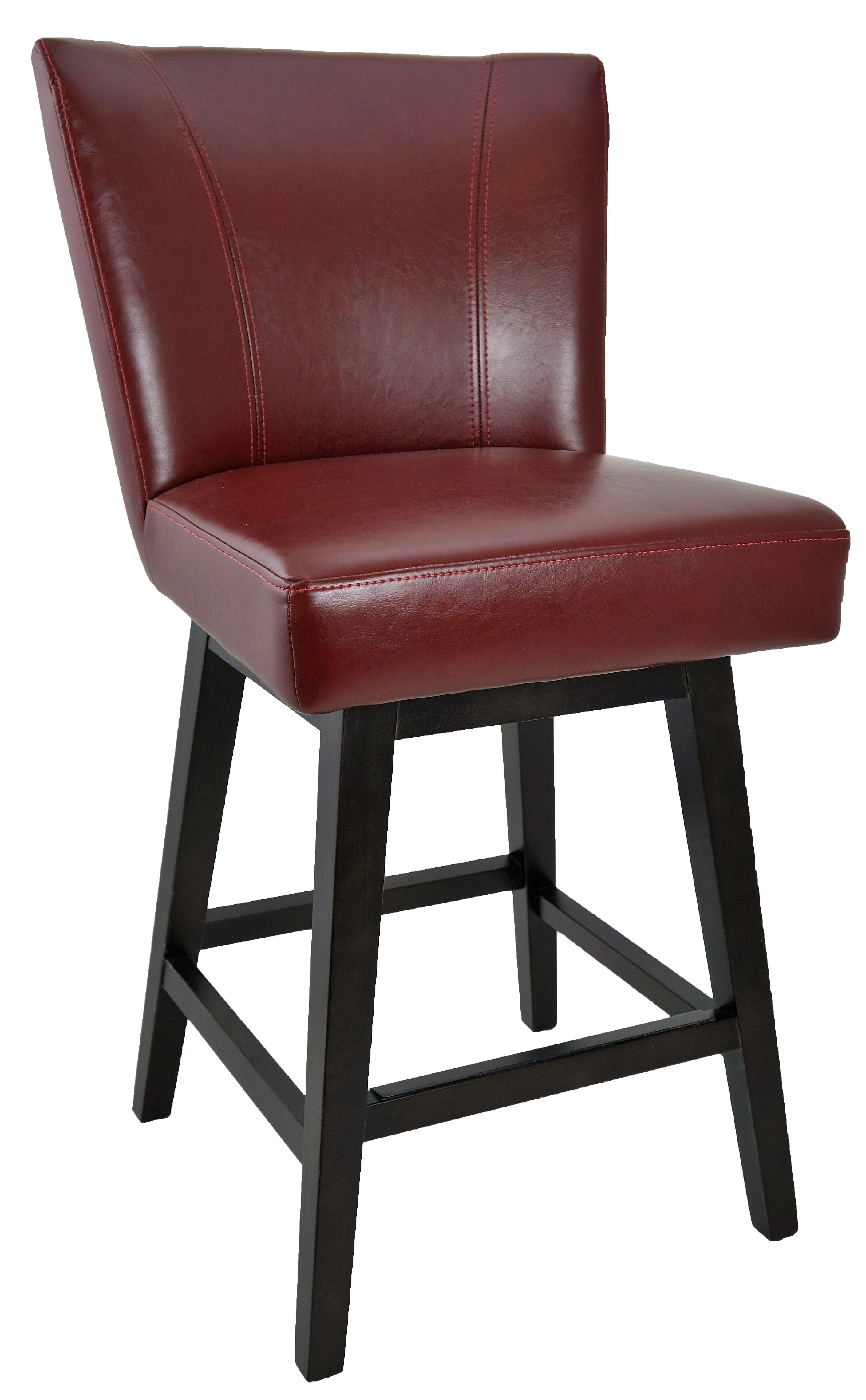 Restaurant Barstool Chairs Red Swivel Leather Counter Stool R 1223 Artefac Usa Bar Stools Swivel Counter Stools Stool