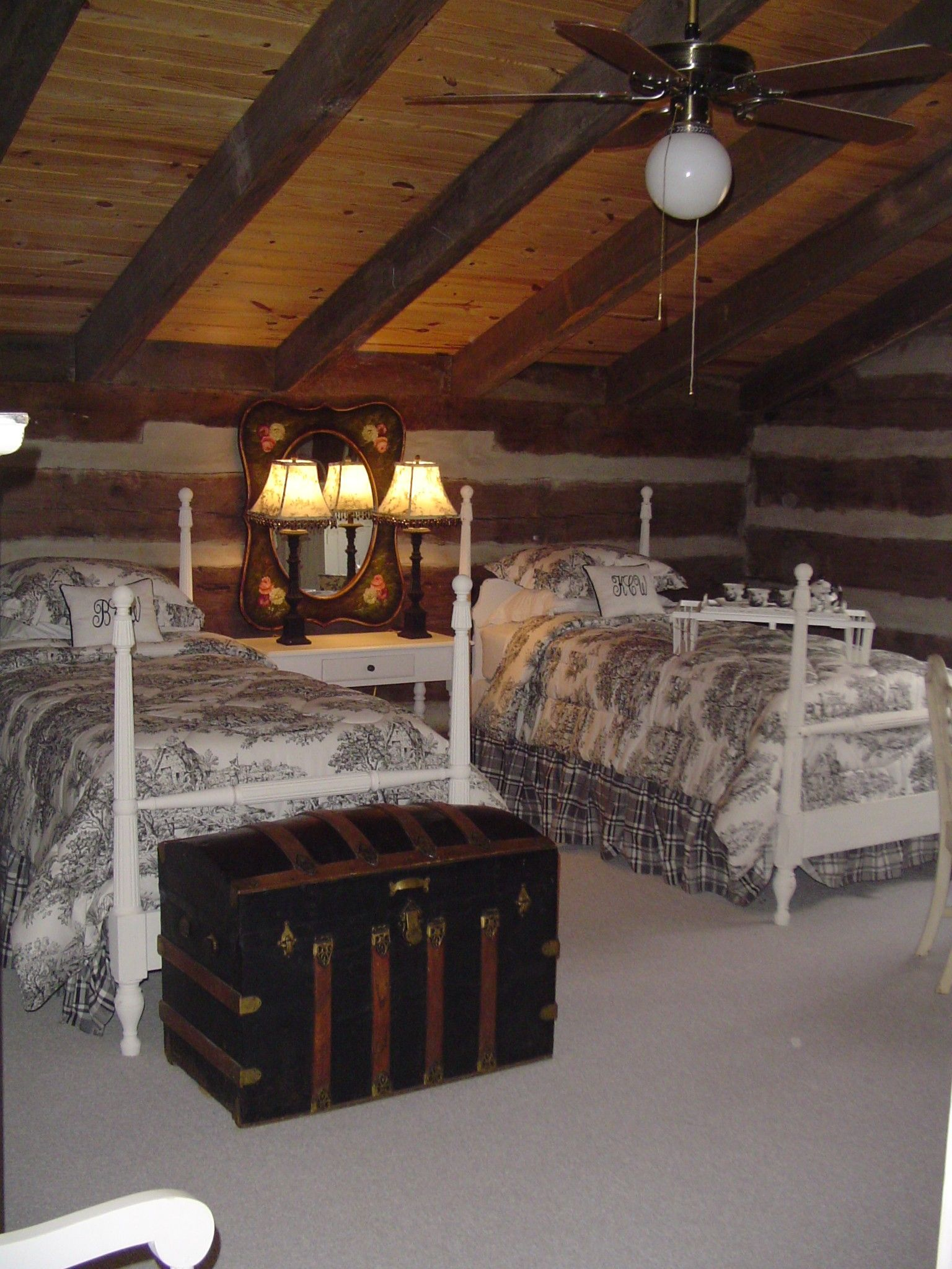 Guest bedroom for the cabin...