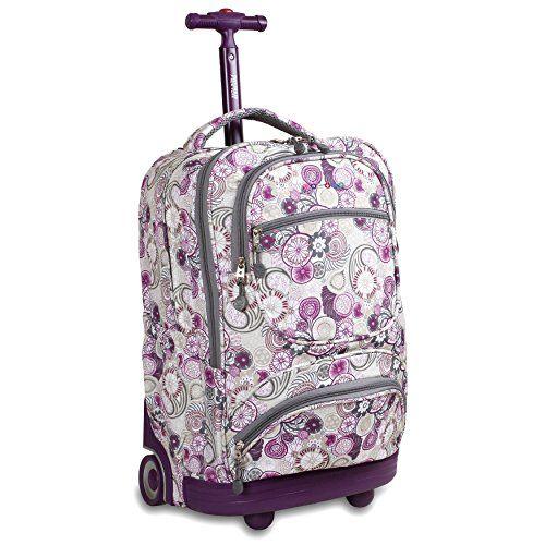 J World New York Luggage Sunburst Blossom