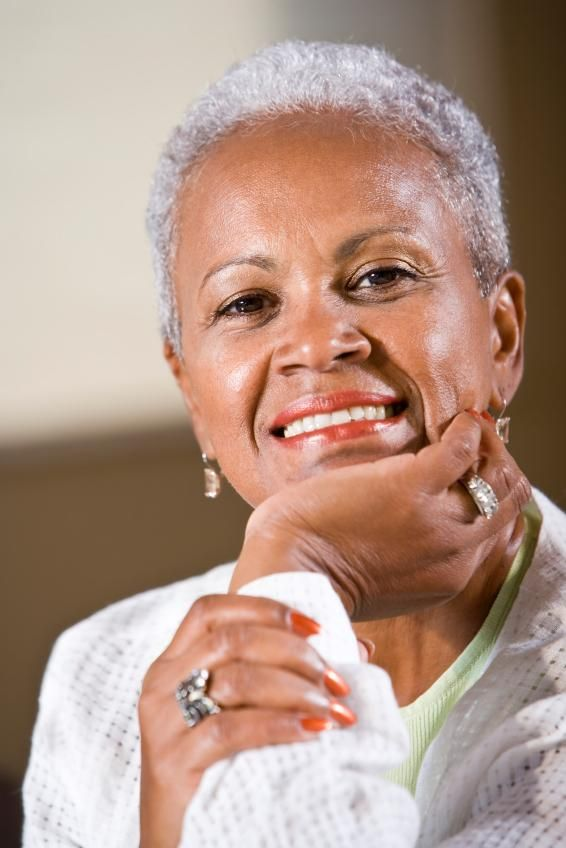 African American Women With Gray Hair Graceful Grey There Is