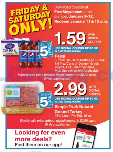 fred coupon app