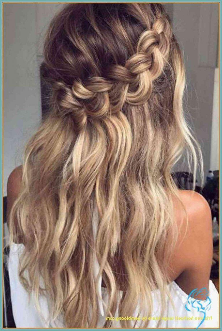 Locken Frisuren Hochzeit  Brautfrisur Halboffen Für Lange Haare