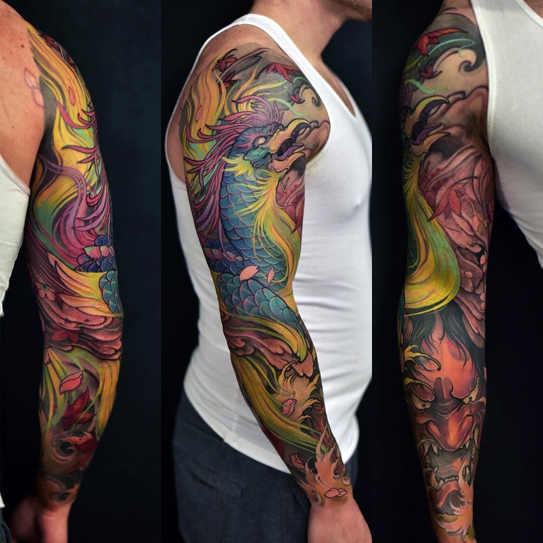 Phoenix Tattoofinder: Phoenix Tattoo Image By Jacob Villanueva On Needles