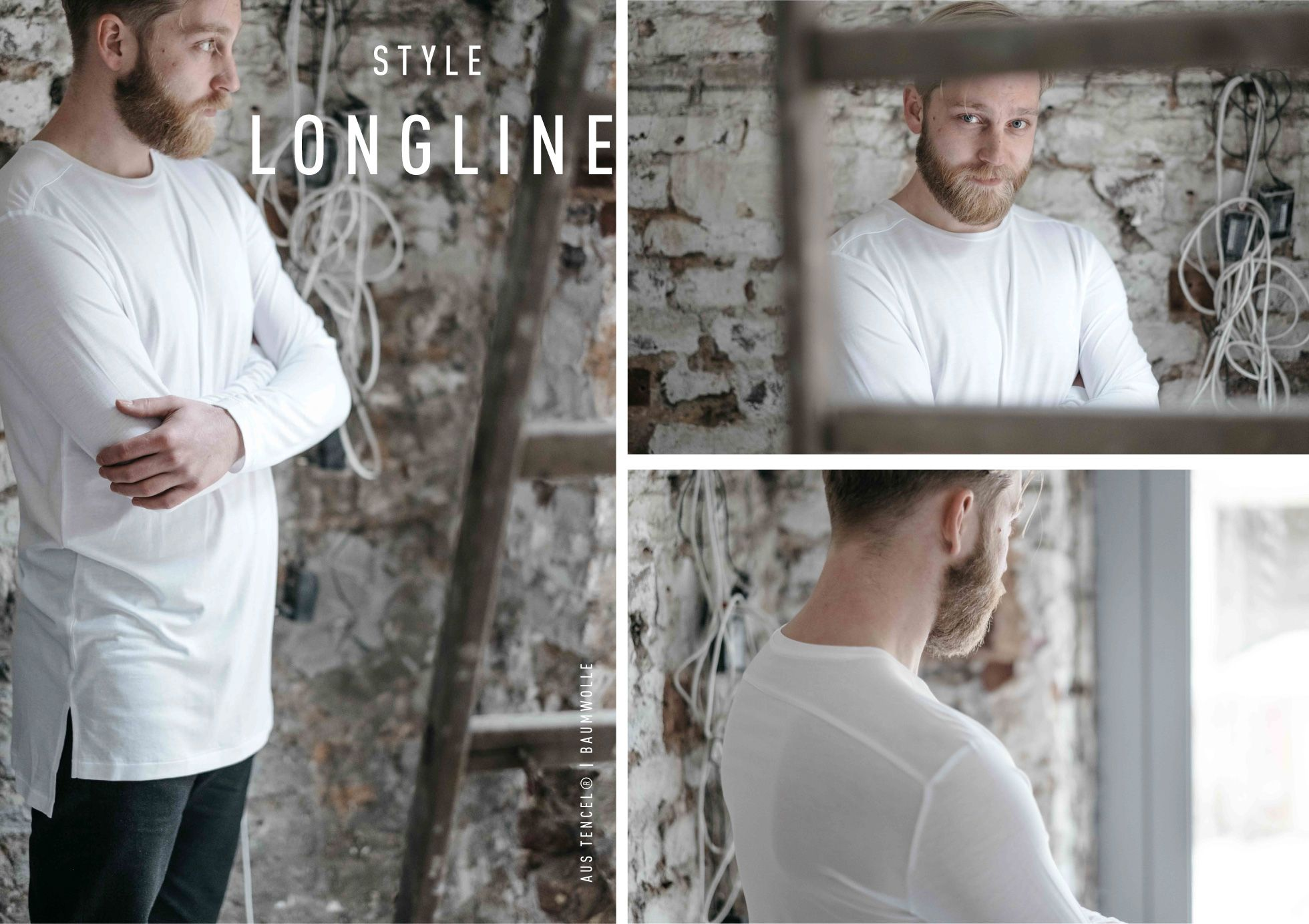Fotostrecke: THE WHITE CANVAS II – Funktion Schnitt #funktionschnitt #menswear #mensfashion #basics #whiteshirt #longseleeve