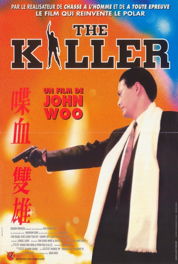 The Killer , starring Yun-Fat Chow, Danny Lee, Sally Yeh ...