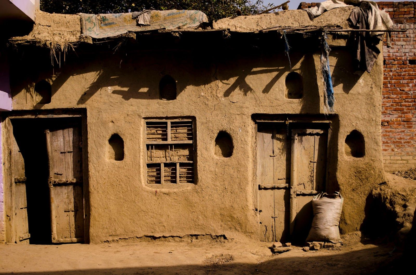 Indian Mud Houses