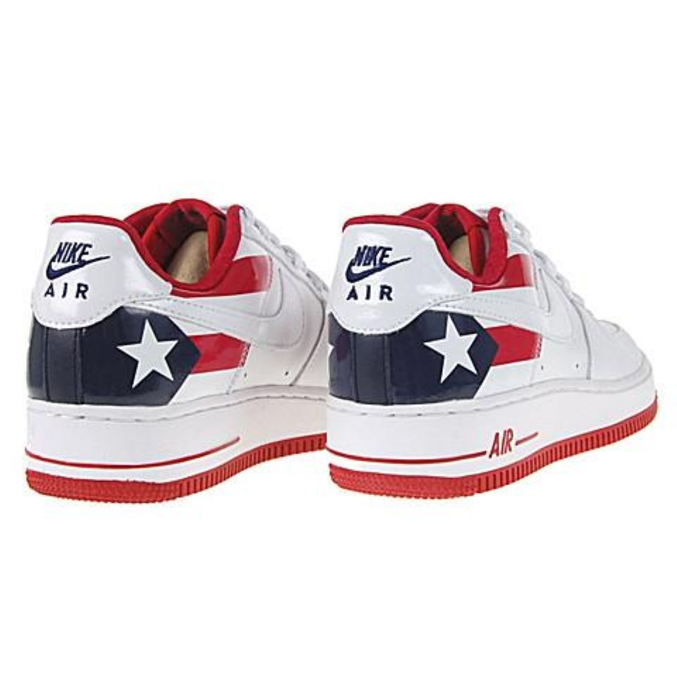 sports shoes 499f3 0c6dc Puerto Rican Fence Climbing Shoes   Air Force One Puerto Rico