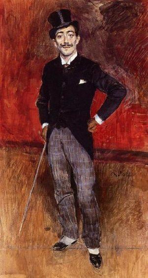 Portrait du comte Constantin de Rasty, Giovanni Boldini