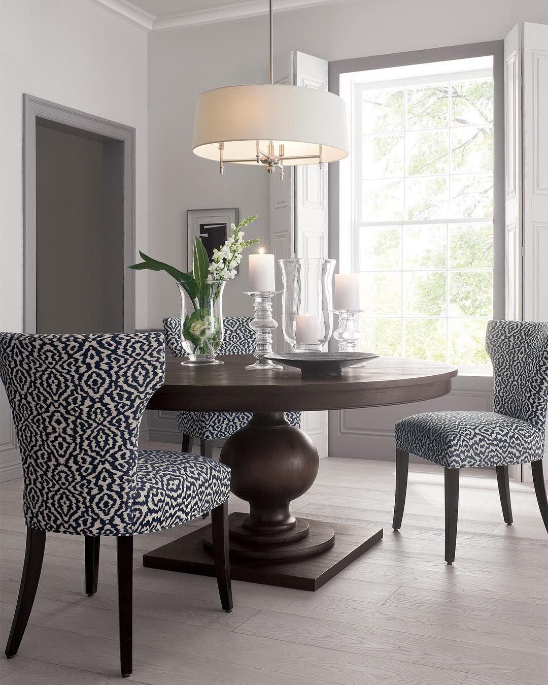 Expandable round dining table – ideas, photos - Rilane